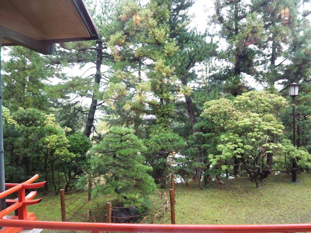奈良ホテル庭
