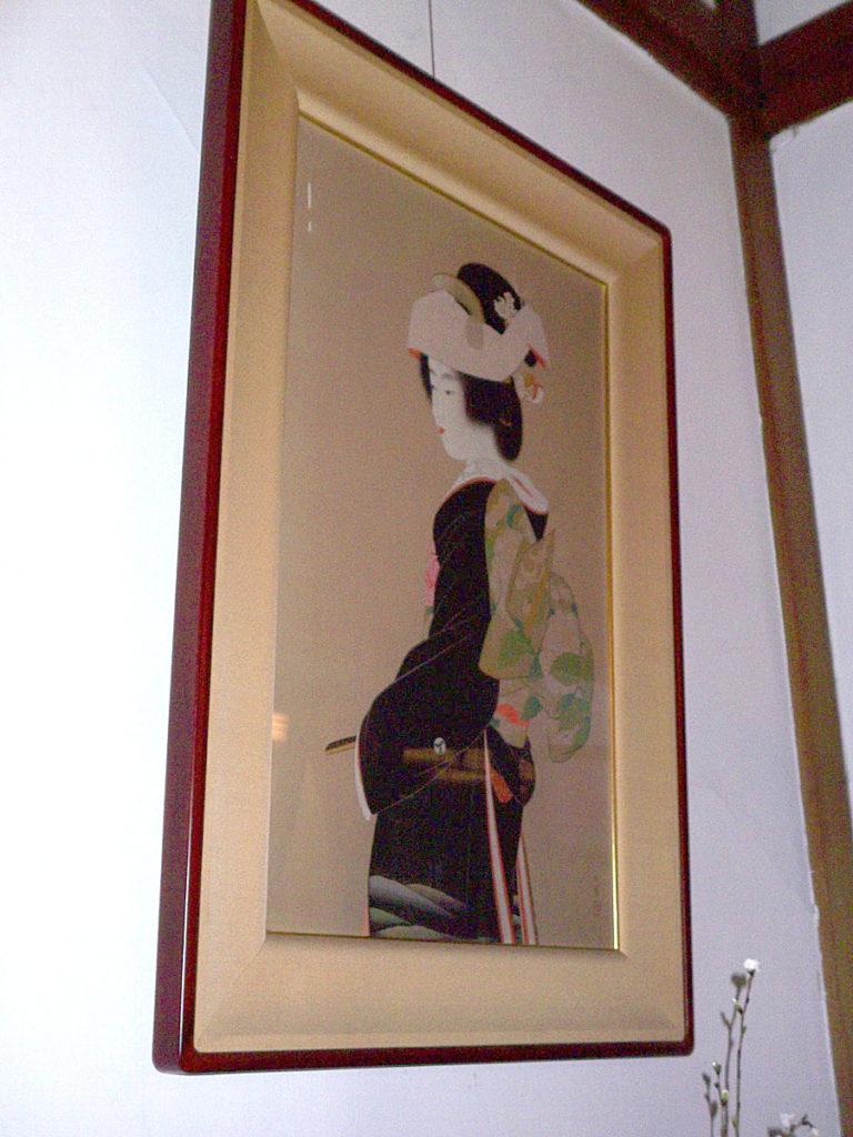 奈良ホテル絵画(上村松園)