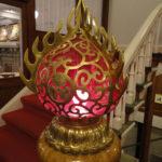 日光金谷ホテル・擬宝珠の照明